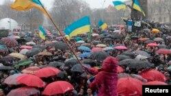 Львівські студенти вимагають відставки керівника області, 25 листопада 2013