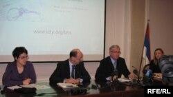 Sa prezentacije internet stranice ICTY u Banjaluci, Foto: Erduan Katana