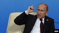 Президент России Владимир Путин. 10.11.2014