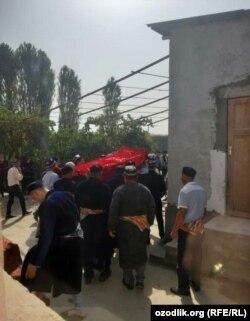 23-летнюю Надиру Кадырову похоронили на родине.