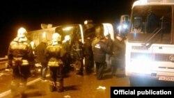 Ռուսաստան - Տուլայի մարզում վթարված ավտոբուսը, 3-ը նոյեմբերի, 2015թ․