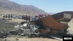 F5 fighter jet belonging to Iran's army crashed on 26 Aug 2018 in southern Iran.