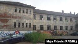 Prostor na kome je planirana izgranja Univerziteta nakon što bi se stara škola srušila