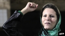 Айша Каддафи - дочь Муамара Каддафи