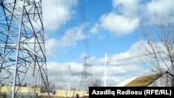 Iraq - Electric wires in Imishli district, Feb2013