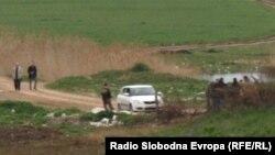 Полицијата врши увид на местото на петкратното убиство кај Смилковското Езеро.
