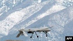 یک هواپیمای بدون سرنشین آمریکایی