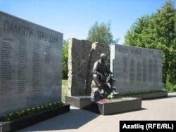 Әфганстан һәм Чечня солдатлары истәлегенә куелган һәйкәл