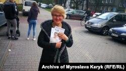 Мирослава Керик, відома у Польщі українська громадська діячка, є кандидатом до Сейму у Варшавському виборчому окрузі від опозиційної політичної сили «Громадянська коаліція»