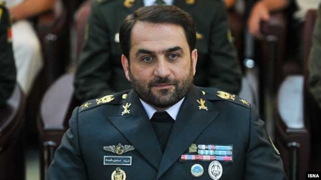 General Farzad Esmaili, commander of Iran's air defense forces