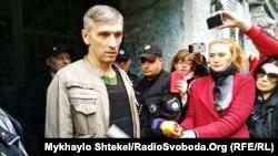 Одеський активіст Олег Михайлик після лікування в шпиталі, 5 жовтня 2018 року