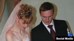 Андрій Виноградов із дружиною