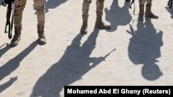 Vojne snage Egipta na severu Sinaja, arhivska fotografija