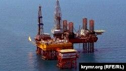 Самоподъемная буровая установка «Таврида» в Черном море