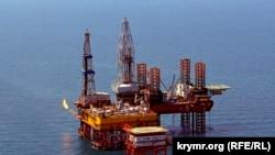 Буровая установка «Таврида» в Черном море