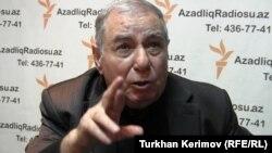 Әзербайжан жазушысы Акрам Айлисли, Баку, 7 ақпан 2013 жыл.
