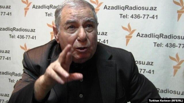 Azerbaijani writer Akram Aylisli