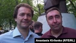 Андрей Ростовцев (справа)