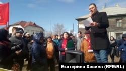 Митинг за расселение жилья в Хабаровске