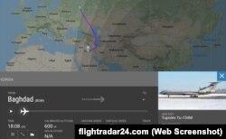 Простояв в Багдаде ночь, 1 сентября 2018 года самолет Минобороны вернулся в Россию