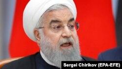 روحانی میگوید «ممکن است شرکتها از ترس آمریکا زمین گذاشته باشند»