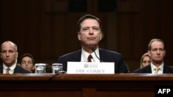 James Comey la audierile din Senat