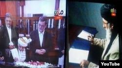 جریان امضای توافقنامۀ صلح میان حکومت افغانستان و حزب اسلامی به رهبری گلبدین حکمتیار