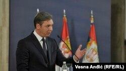 Za razgraničenje sa Albancima: Aleksandar Vučić