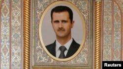 تصویری از بشار اسد، رییسجمهوری سوریه.