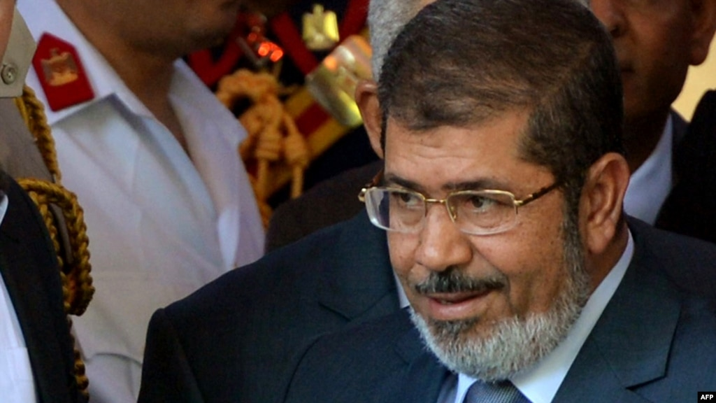 Muhammad Morsi was ousted as Egypt's president in July.