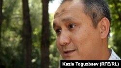 Нурым Тайбек, участник ахмадийской общины Алматы ответственный за связь с общественностью. Алматы, 19 июня 2012 года.