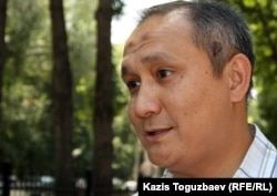 Нурым Тайбек, представитель ахмадийской общины Алматы.