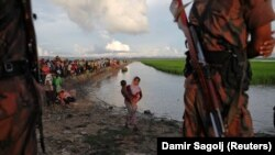 Izbjeglice na granici sa Bangladešom
