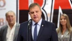 Лидерът на ВМРО Красимир Каракачанов
