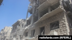 Aleppo Neighborhood Pounded By Air Strikes