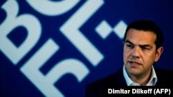 Архивска фотографија- премиерот на Грција Алексис Ципрас на Самитот ЕУ-Западен Балкан во Софија, 17.05.2018