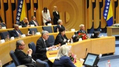 Konstitutivna sjednica Doma naroda Parlamenta BiH održana je u februaru 2019.