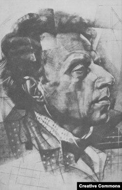 Мейерхольд на портрете работы Ю.Анненкова