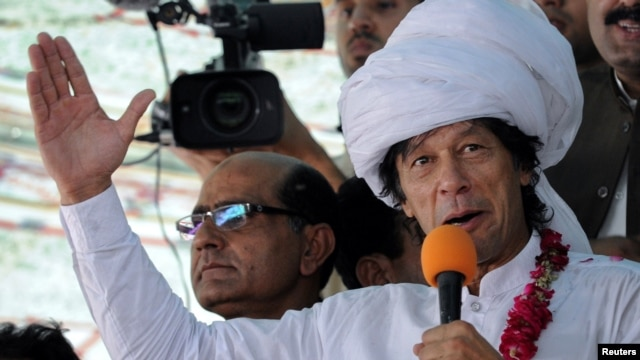 Cricketer turned politician Imran Khan