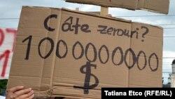 Pancardă de protest, imagine generică.