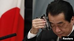 Япониянинг эндиликда собиқ Бош вазири Наото Кан.