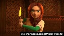 Кадр із мультфільма «Викрадена принцеса»