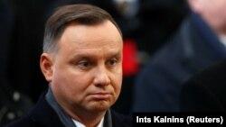 Анджей Дуда, президент Польши
