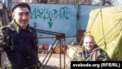 Заур і Алег з Брацкай сотні будуць на Майдане да 25 траўня