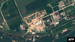 Спутниковая фотография ядерного комплекса в Йонбёне
