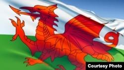 знамето на Велс