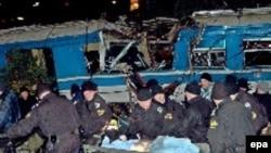 željeznička nesreća u Bioču, januar 2006