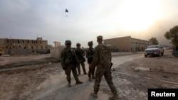 Американские солдаты в окрестностях Мосула в Ираке в октябре 2016 года