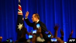 Kryeministri australian, Tony Abbott, (ARKIV)