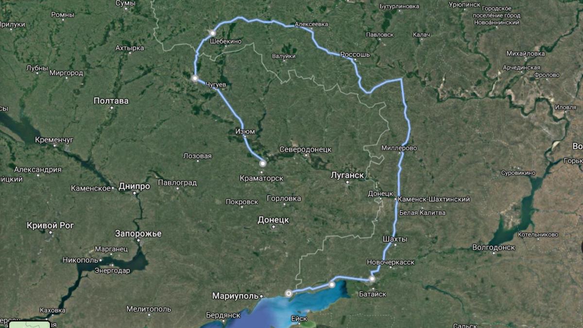 8 тысяч гривен, 2400 киллометров: как я выбирался из ОРДЛО